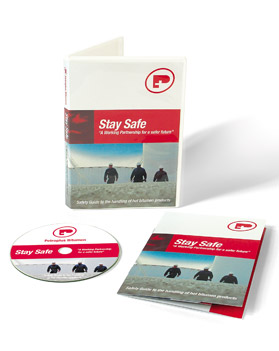 Petroplus Stay Safe DVD and case