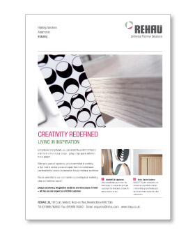 REHAU Advertising