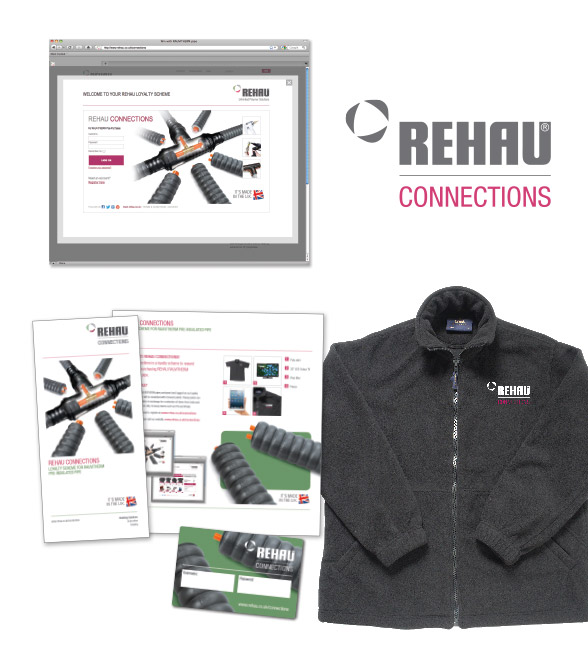 REHAU Connections website and lealfet.