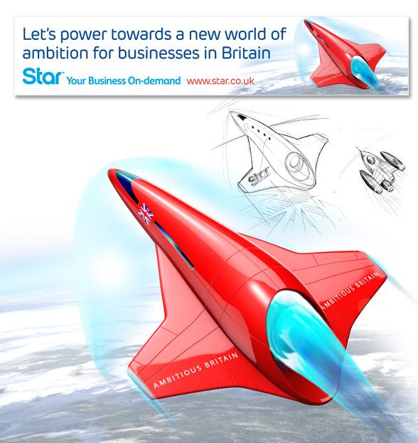 Ambitious Britain Rocket