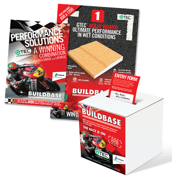Buildbase Competion Brochure, Poster and Box