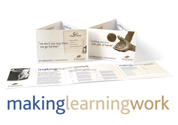 making learning work direct mail campaign