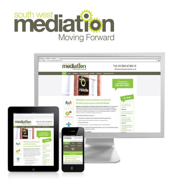 South West Mediation logo and website