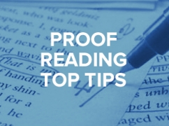 E&T's Proof Reading Top Tips