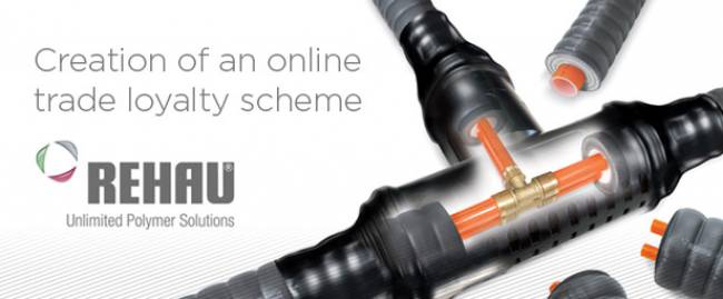 REHAU - Creation of an online trade loyalty scheme
