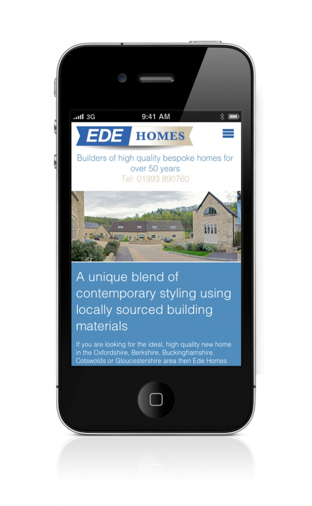 EDE Homes Responsive Site