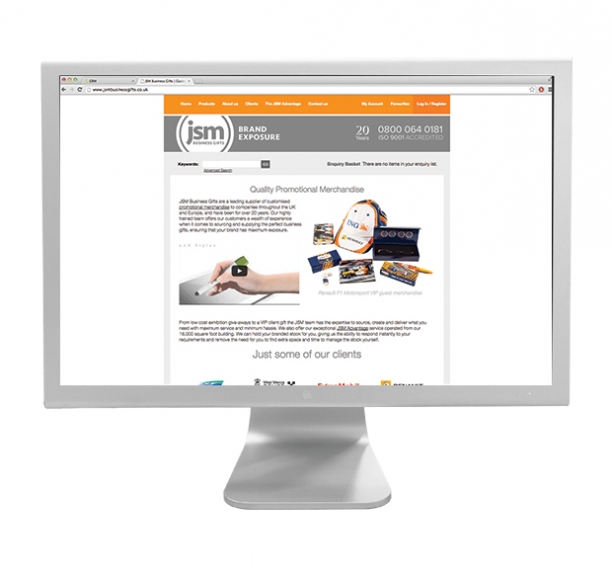 JSM Business Gifts Site
