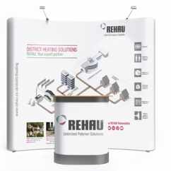 Rehau District Heating exhibition unit