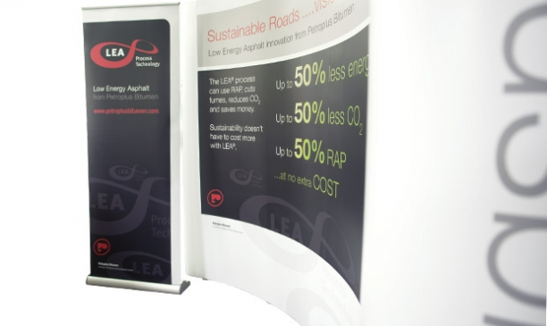 LEA Pop-up Exhibition Stand