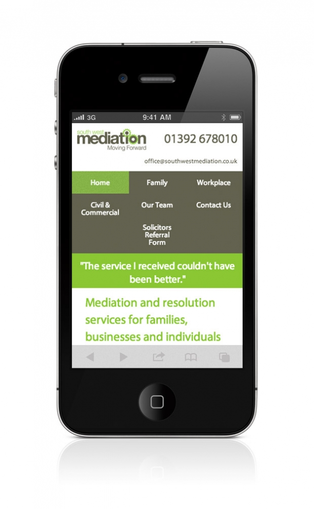 South West Mediation Website