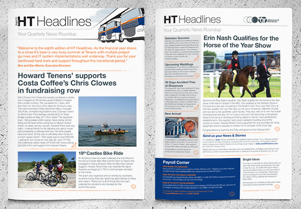 Howard Tenens Internal Newsletter